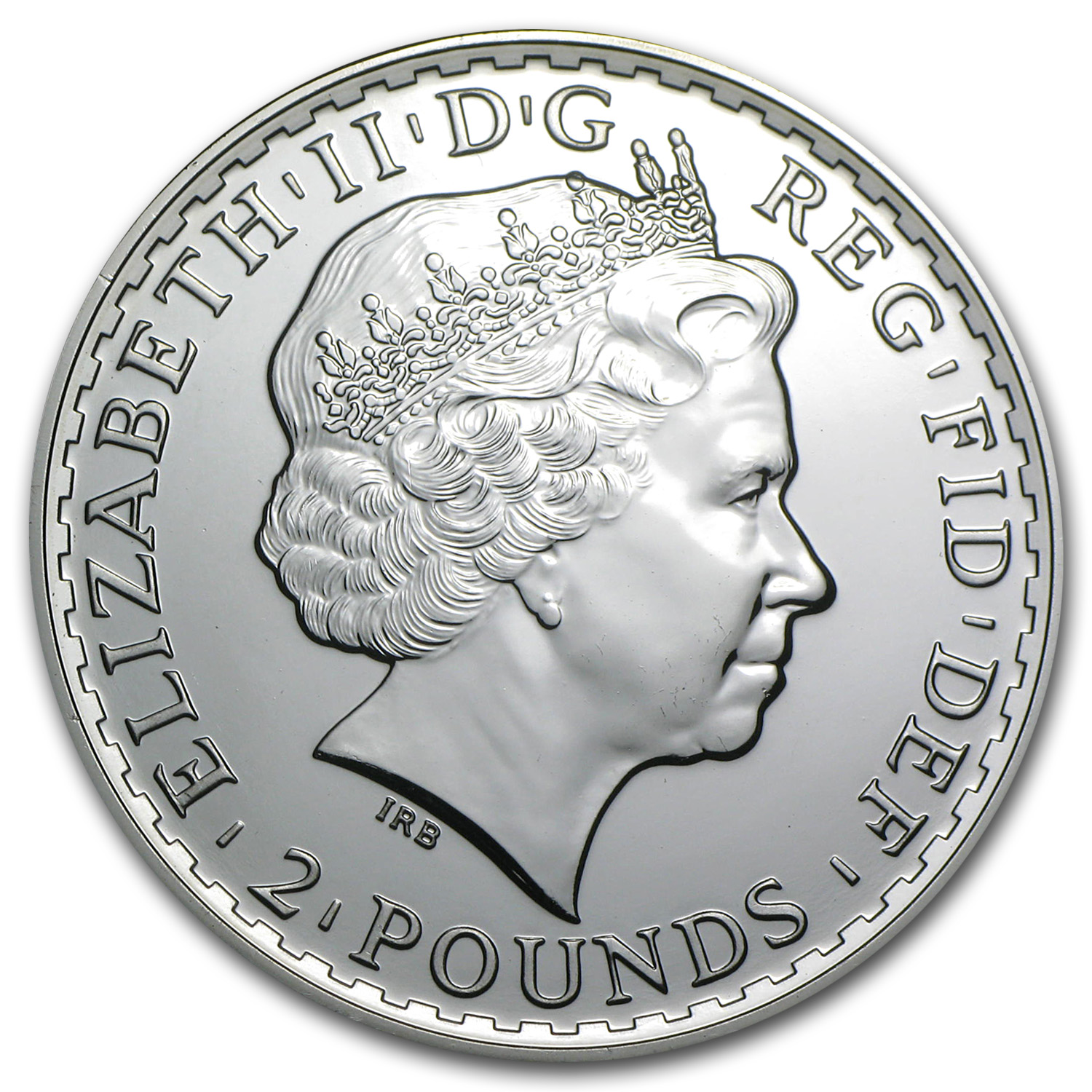 2014 Great Britain 1 oz Silver Britannia BU